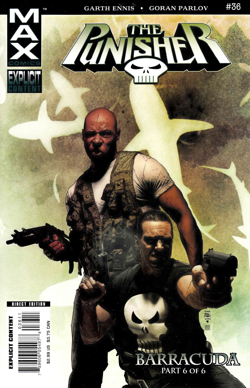 Punisher Max #36 [Comic] THUMBNAIL