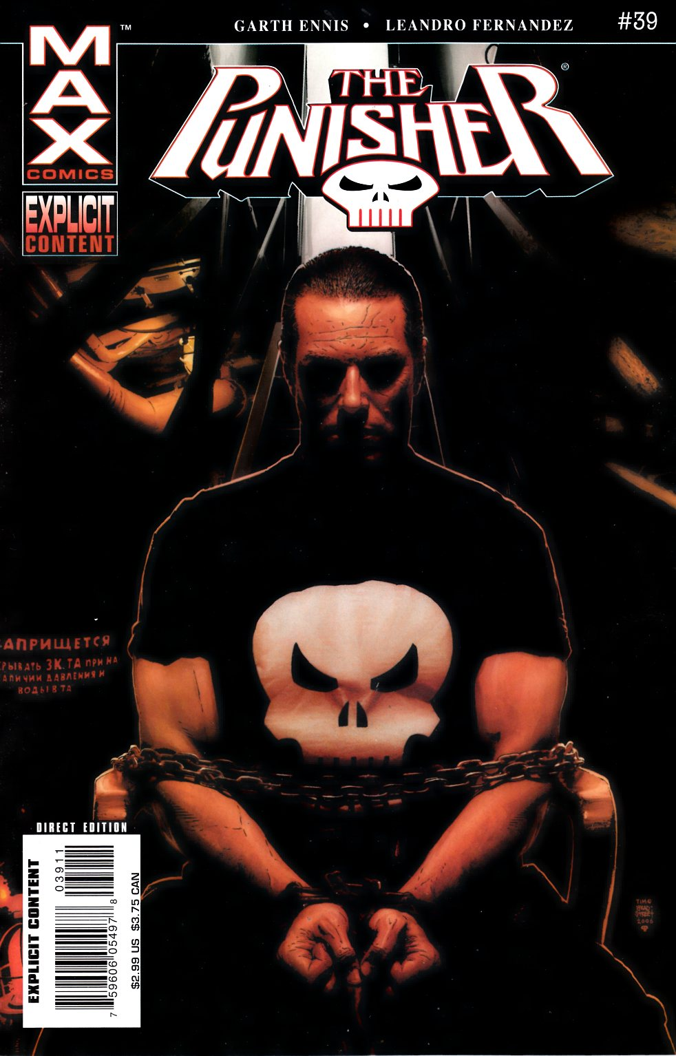 Punisher Max #39 [Comic] THUMBNAIL