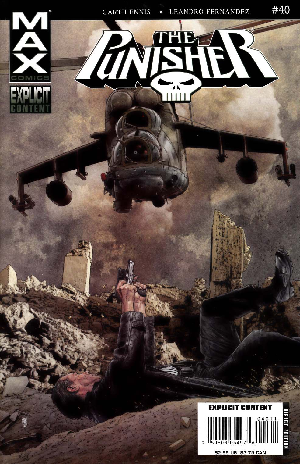 Punisher Max #40 [Comic] THUMBNAIL