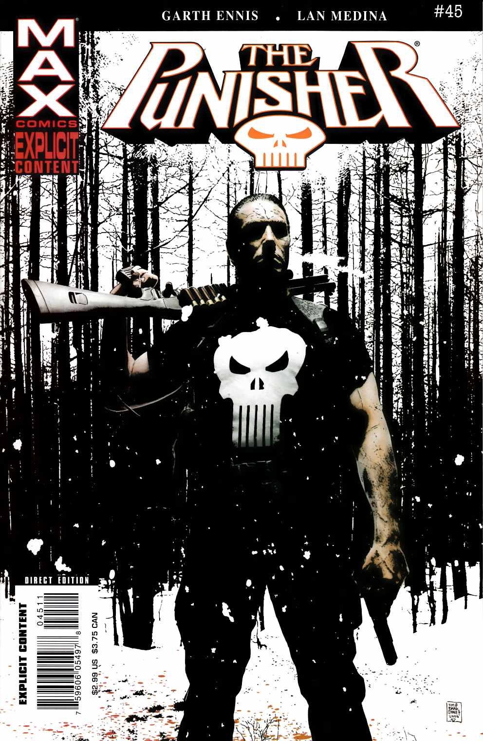 Punisher Max #45 Near Mint Minus (9.2) [Marvel Comic] THUMBNAIL
