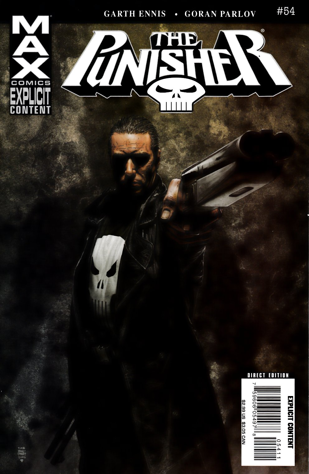 Punisher Max #54 Very Fine (8.0) [Marvel Comic] LARGE