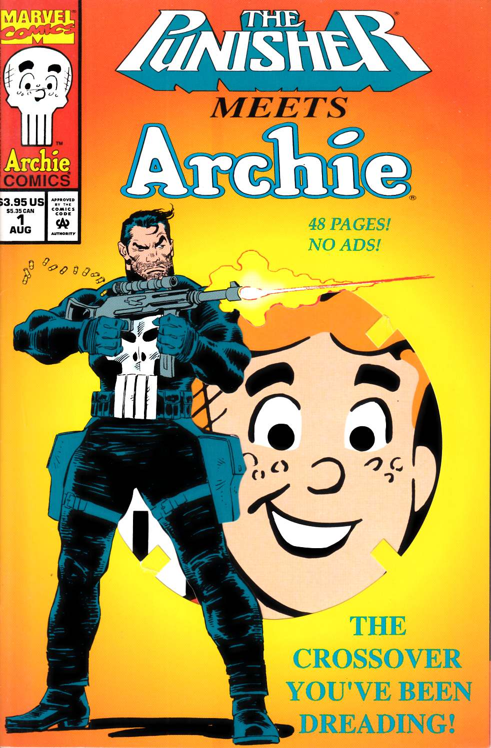 Punisher Meets Archie #1 Fine/Very Fine (7.0) [Marvel Comic] THUMBNAIL