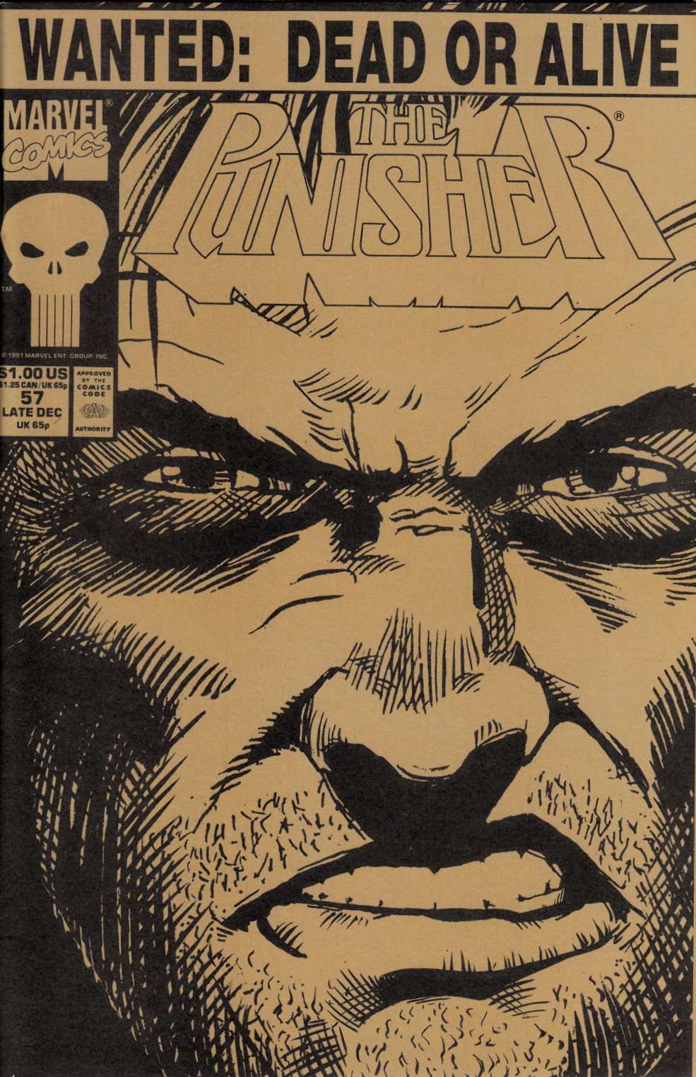 Punisher #57 Near Mint (9.4) [Marvel Comic]_THUMBNAIL