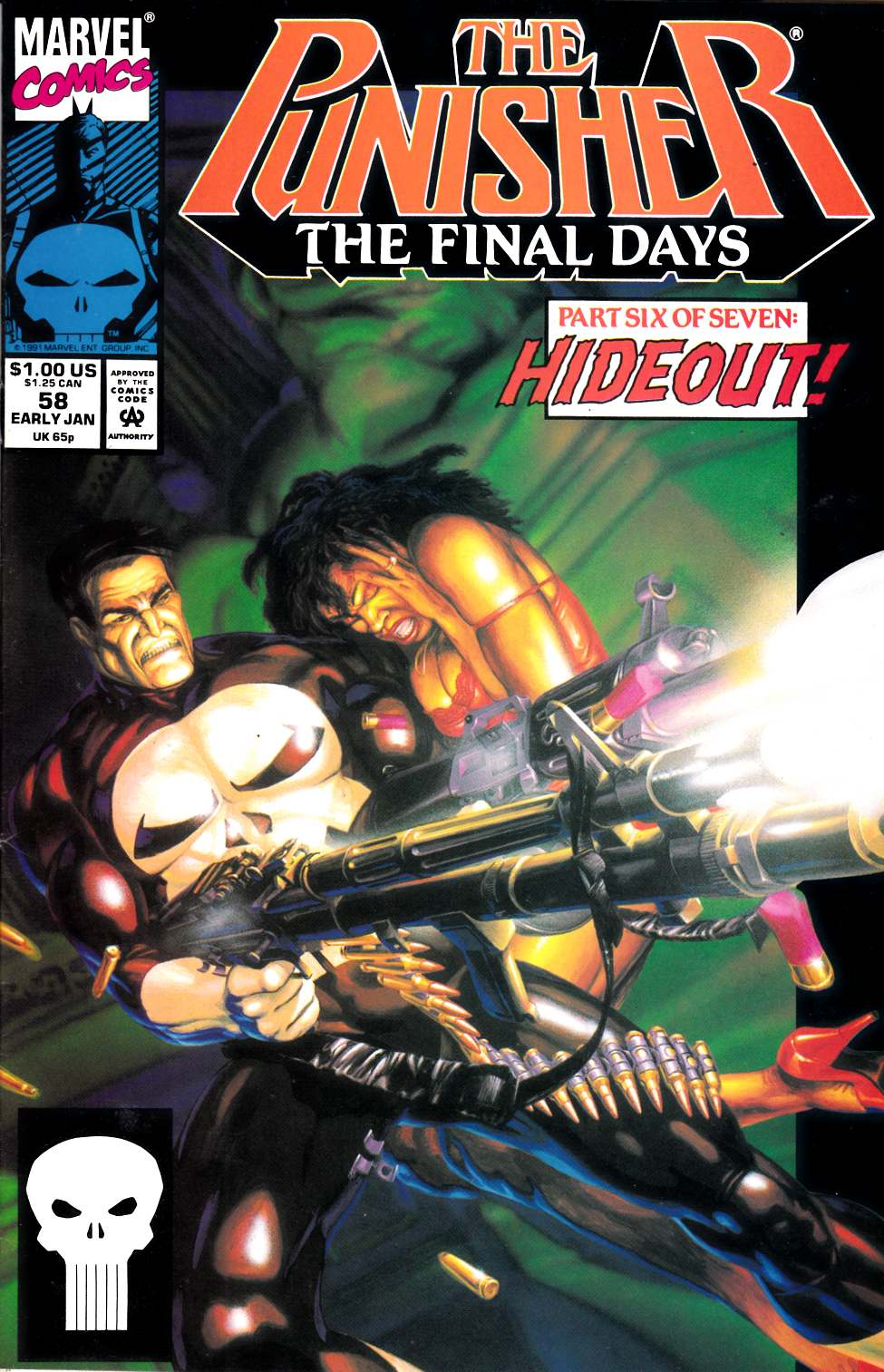 Punisher #58 Fine Plus (6.5) [Marvel Comic]_THUMBNAIL