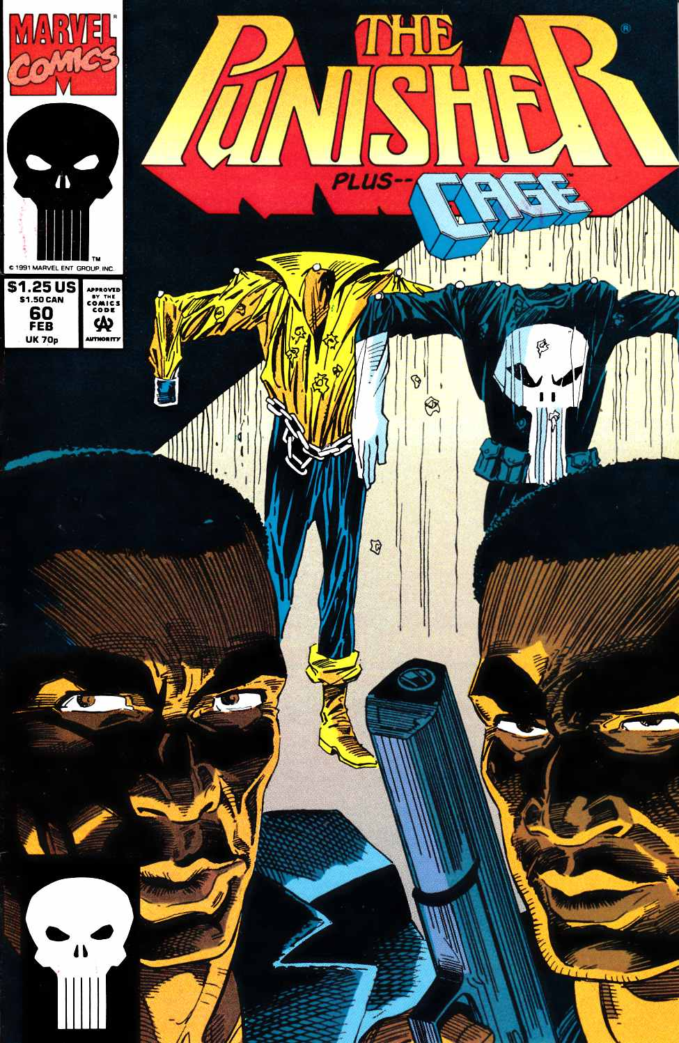 Punisher #60 Fine Plus (6.5) [Marvel Comic]_THUMBNAIL