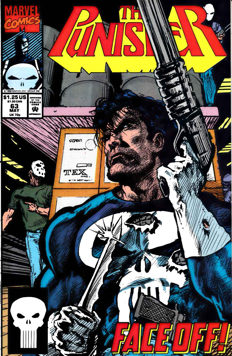 Punisher #63 Near Mint Minus (9.2) [Marvel Comic]_THUMBNAIL