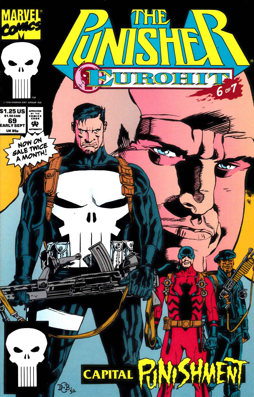 Punisher #69 Very Fine (8.0) [Marvel Comic]_THUMBNAIL