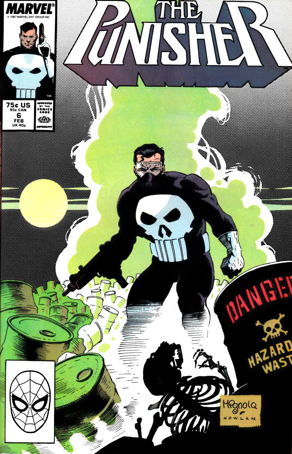 Punisher #6 Near Mint (9.4) [Marvel Comic] THUMBNAIL