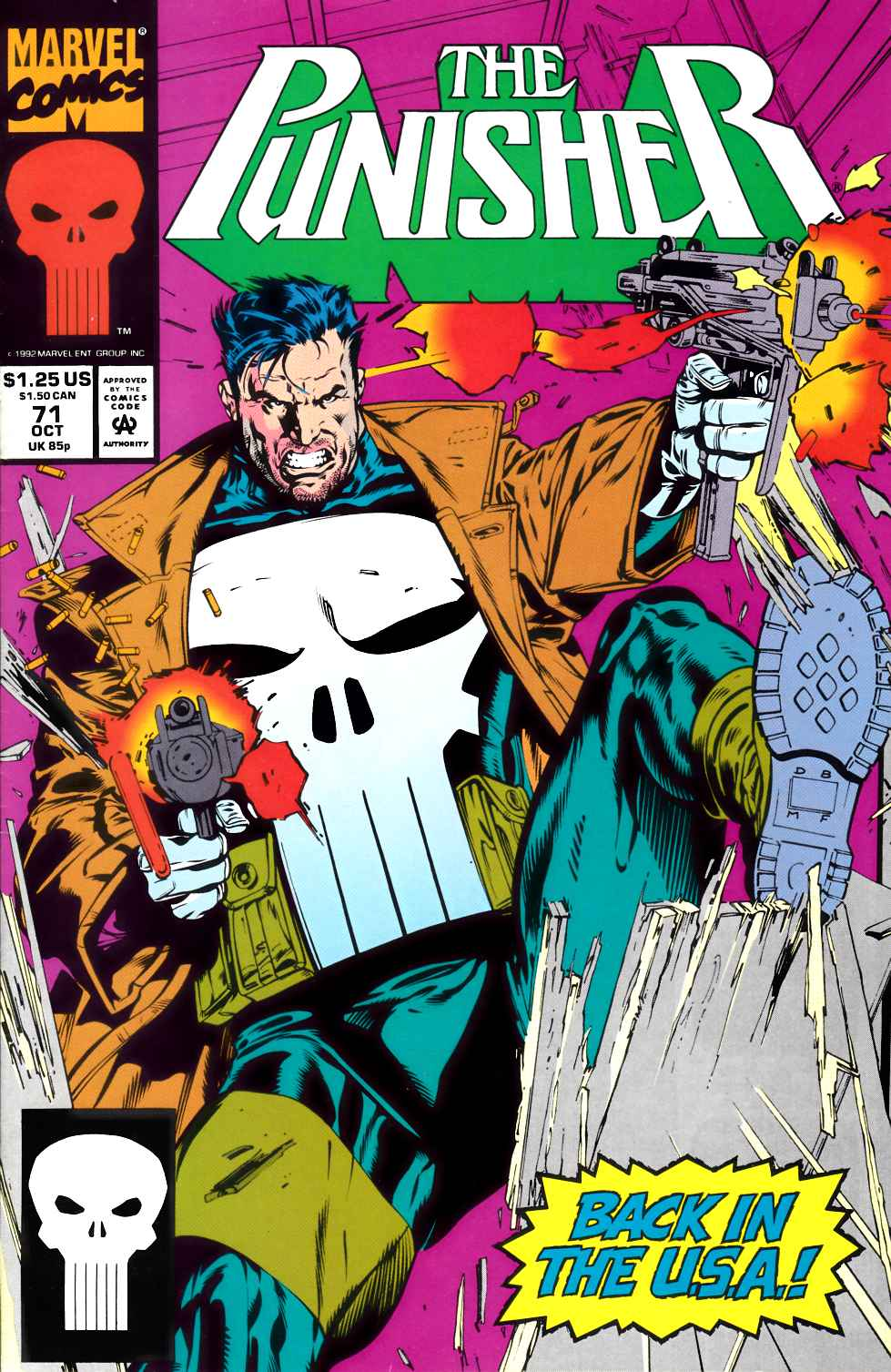 Punisher #71 Very Fine (8.0) [Marvel Comic]_THUMBNAIL