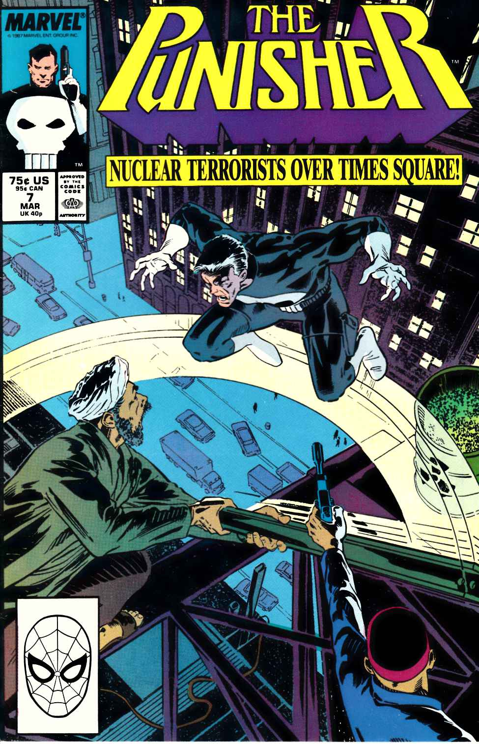 Punisher #7 Fine (6.0) [Marvel Comic] LARGE
