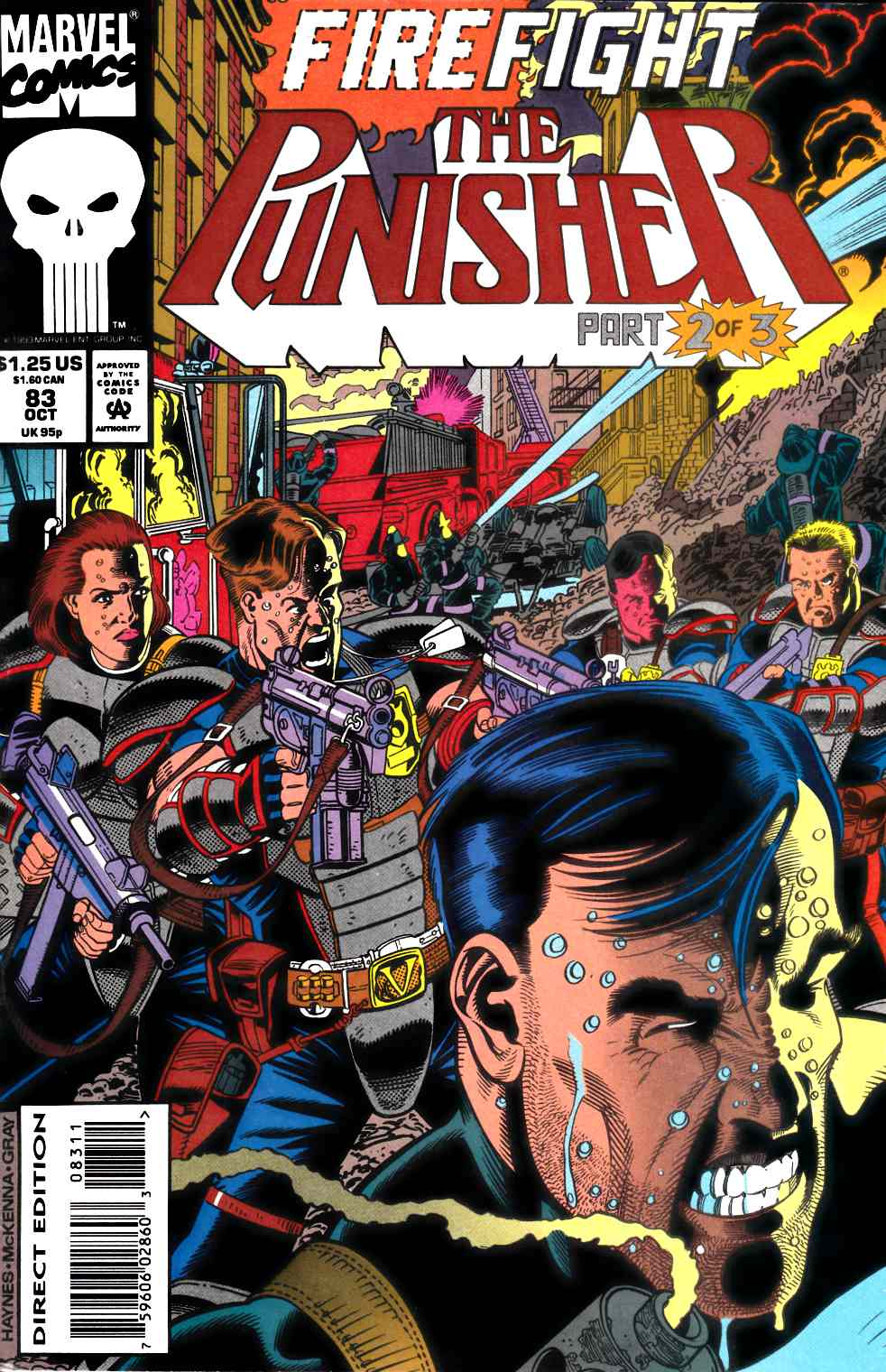 Punisher #83 Fine (6.0) [Marvel Comic] LARGE