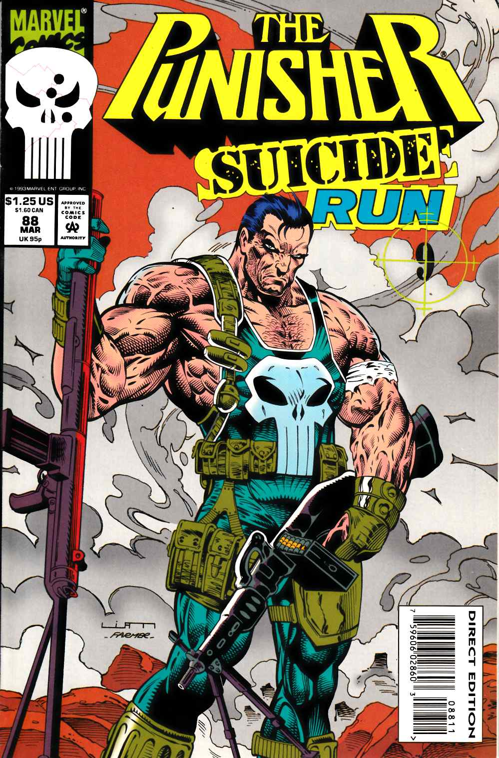 Punisher #88 Very Fine (8.0) [Marvel Comic] LARGE
