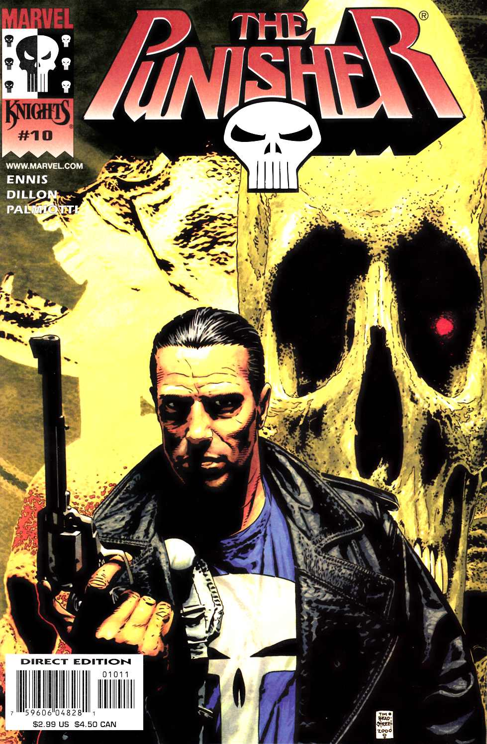 Punisher #10 Near Mint (9.4) [Marvel Comic]_THUMBNAIL