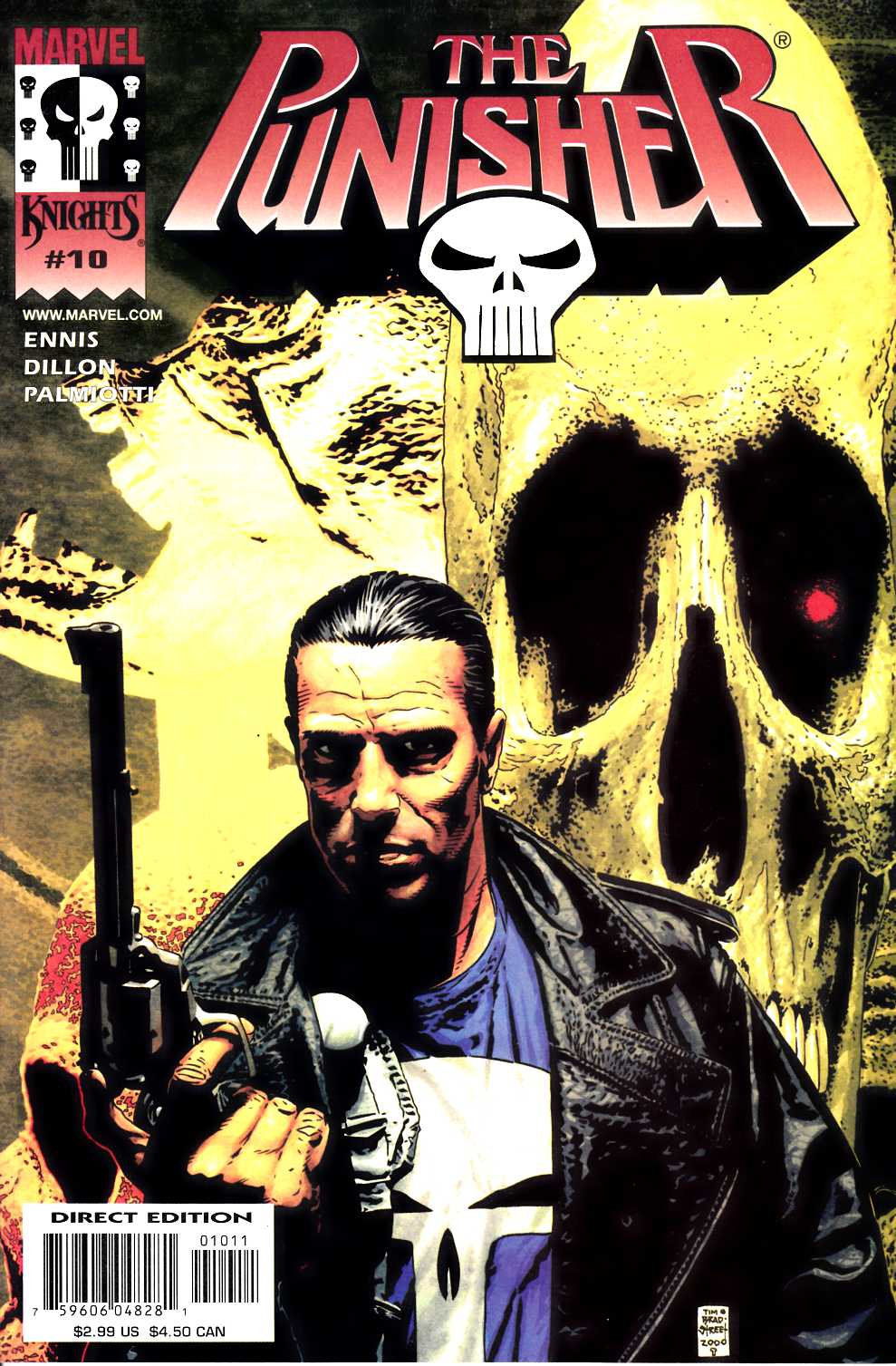 Punisher #10 Very Fine (8.0) [Marvel Comic]_THUMBNAIL