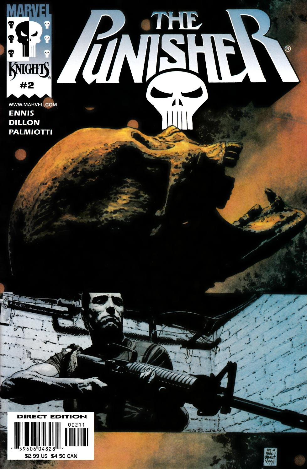 Punisher #2 Cover B [Marvel Comic]