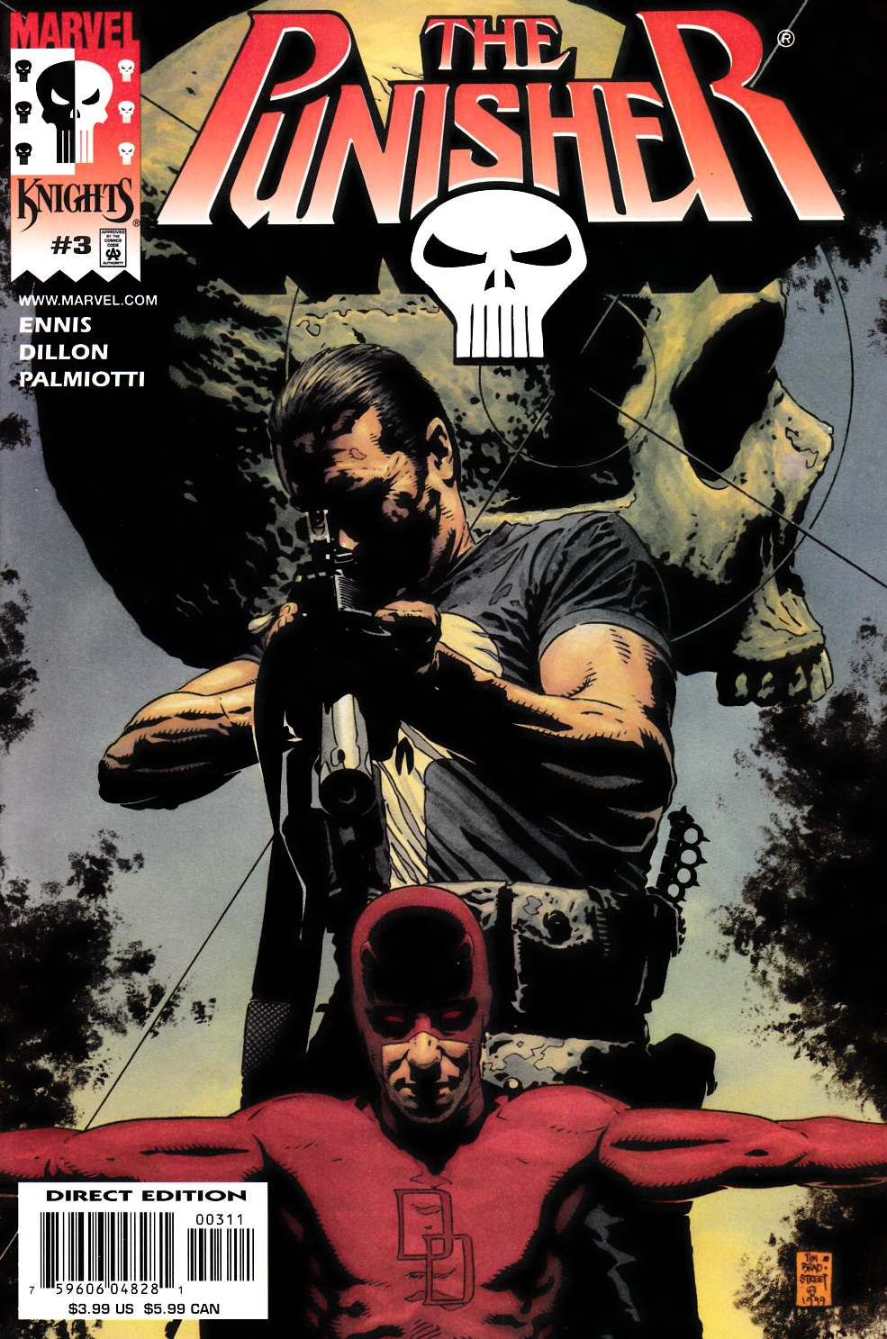 Punisher #3 Unbagged Edition [Marvel Comic]