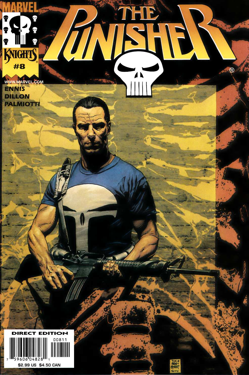 Punisher #8 Near Mint (9.4) [Marvel Comic]_THUMBNAIL
