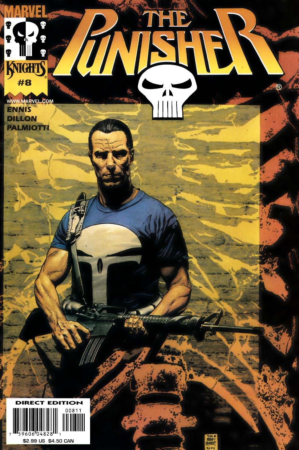 Punisher #8 Very Fine (8.0) [Marvel Comic]_THUMBNAIL