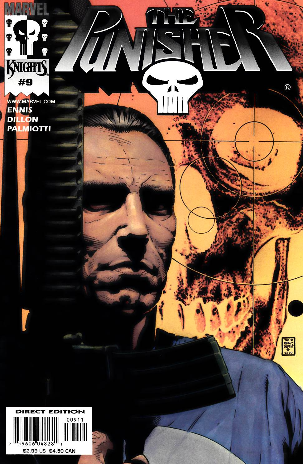 Punisher #9 Near Mint (9.4) [Marvel Comic]_THUMBNAIL