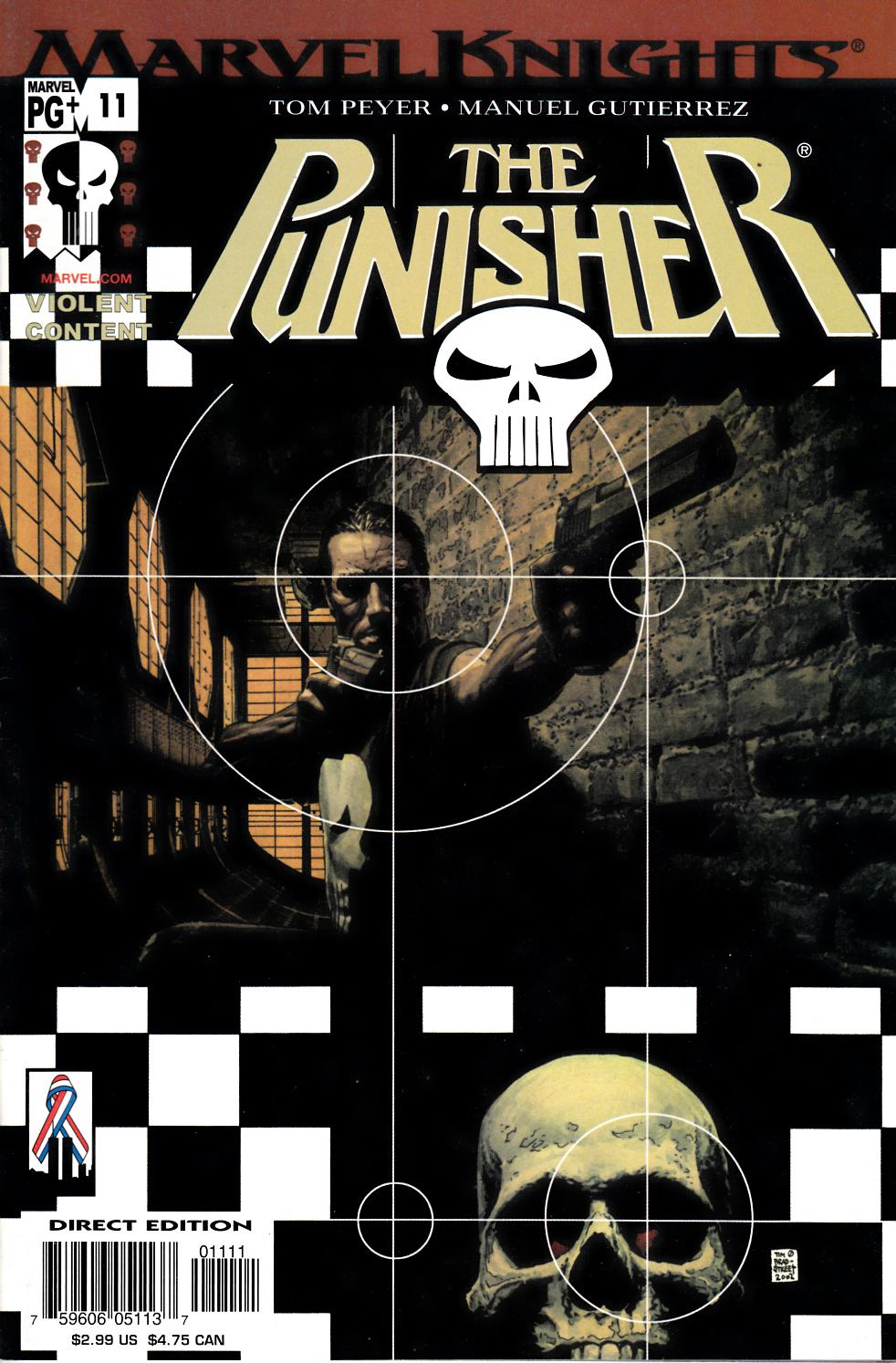 Punisher #11 Near Mint (9.4) [Marvel Comic] LARGE