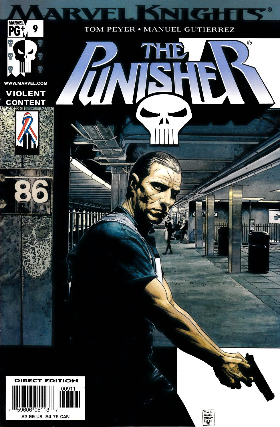 Punisher #9 Near Mint (9.4) [Marvel Comic] LARGE