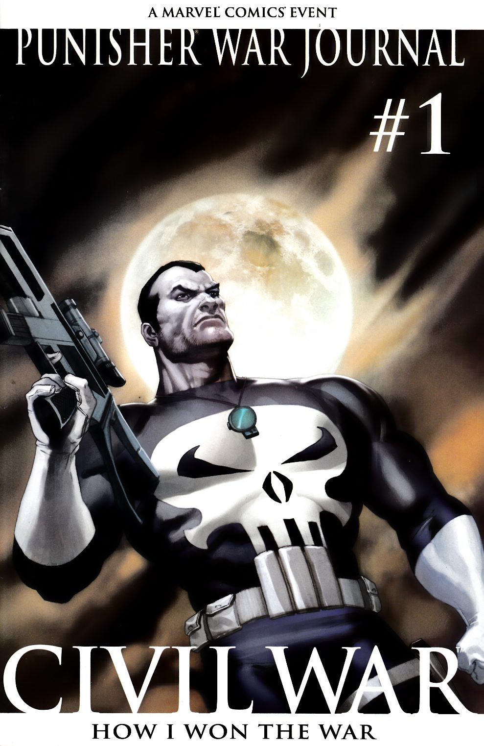 Punisher War Journal #1 Second Printing Very Fine (8.0) [Marvel Comic]_LARGE