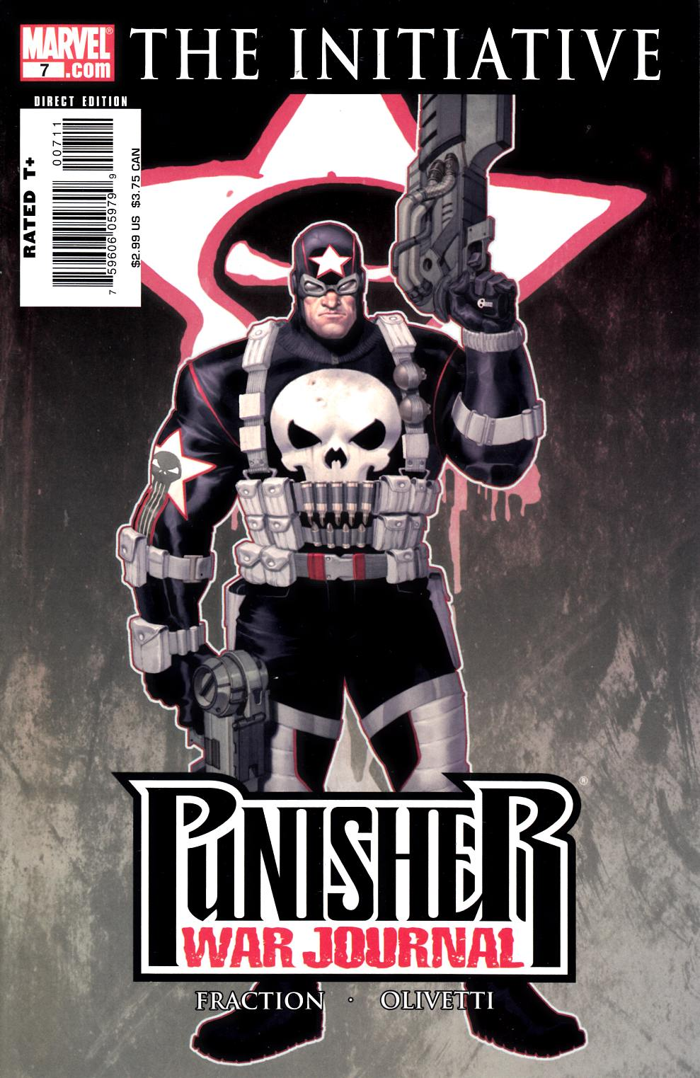Punisher War Journal #7 Cover A Near Mint (9.4) [Marvel Comic] LARGE