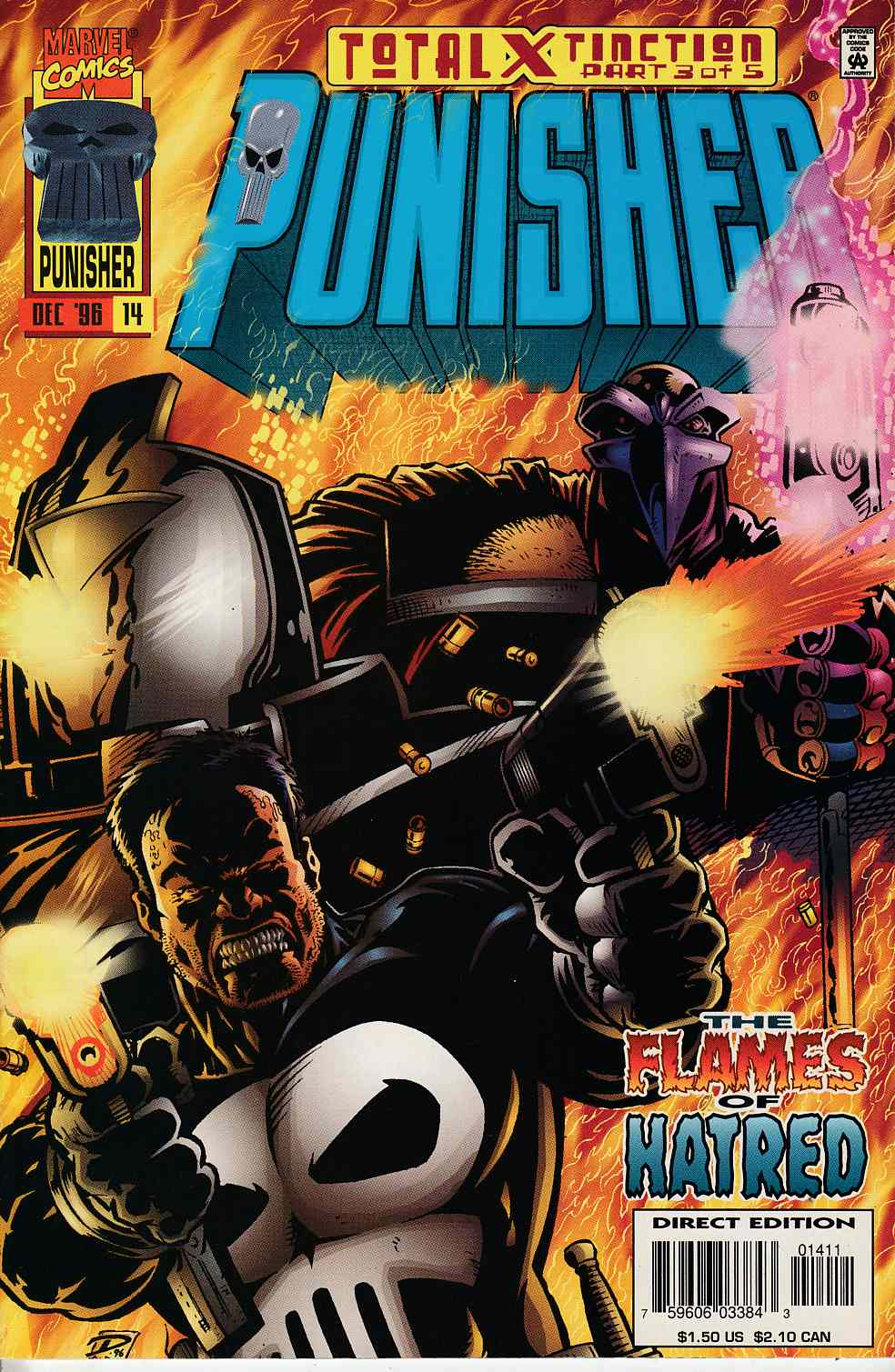 Punisher #14 Very Fine (8.0) [Marvel Comic] THUMBNAIL