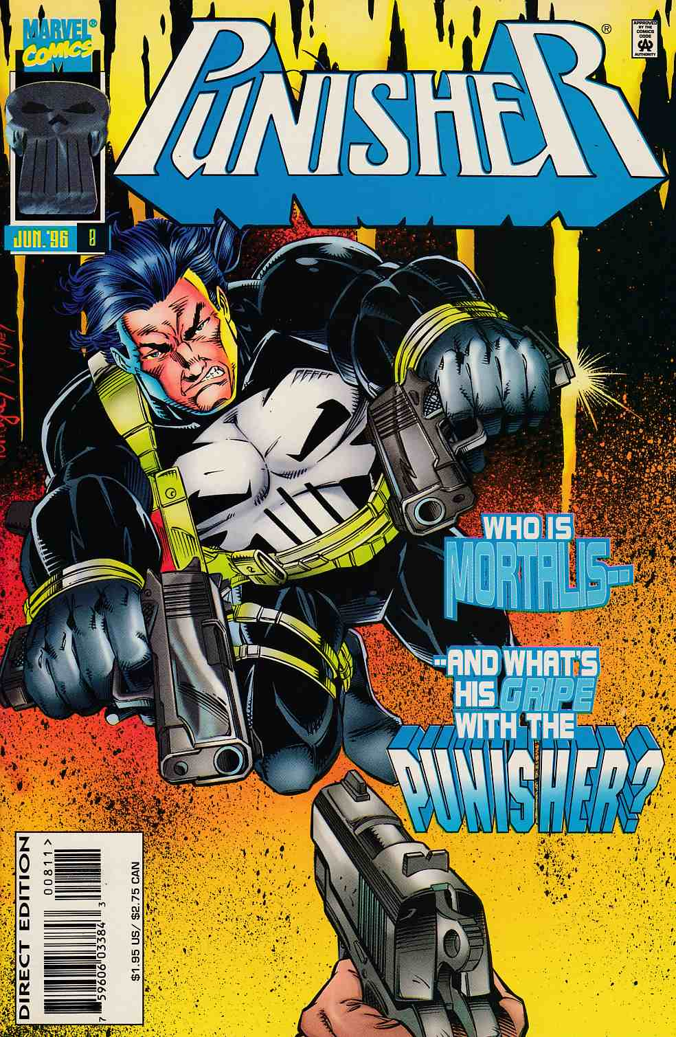 Punisher #8 Near Mint (9.4) [Marvel Comic] THUMBNAIL