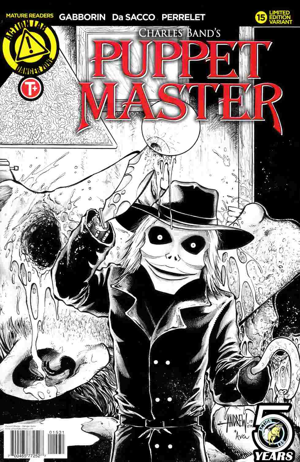 Puppet Master #15 Cover C [Action Lab Comic] LARGE
