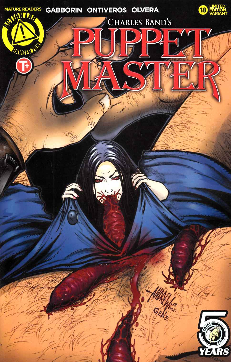 Puppet Master #18 Cover C [Action Lab Comic] LARGE