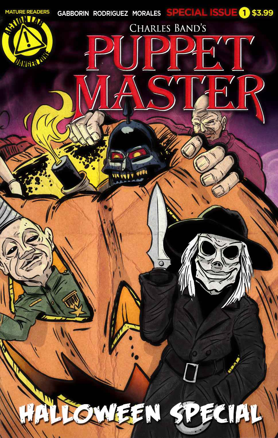 Halloween 2020 Is Laurie Puppetmaster Puppet Master Halloween Special [Action Lab Comic