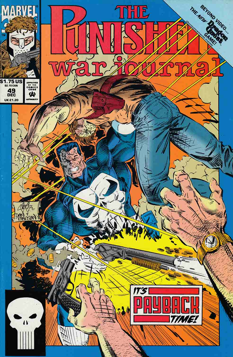 Punisher War Journal #49 Near Mint (9.4) [Marvel Comic] LARGE
