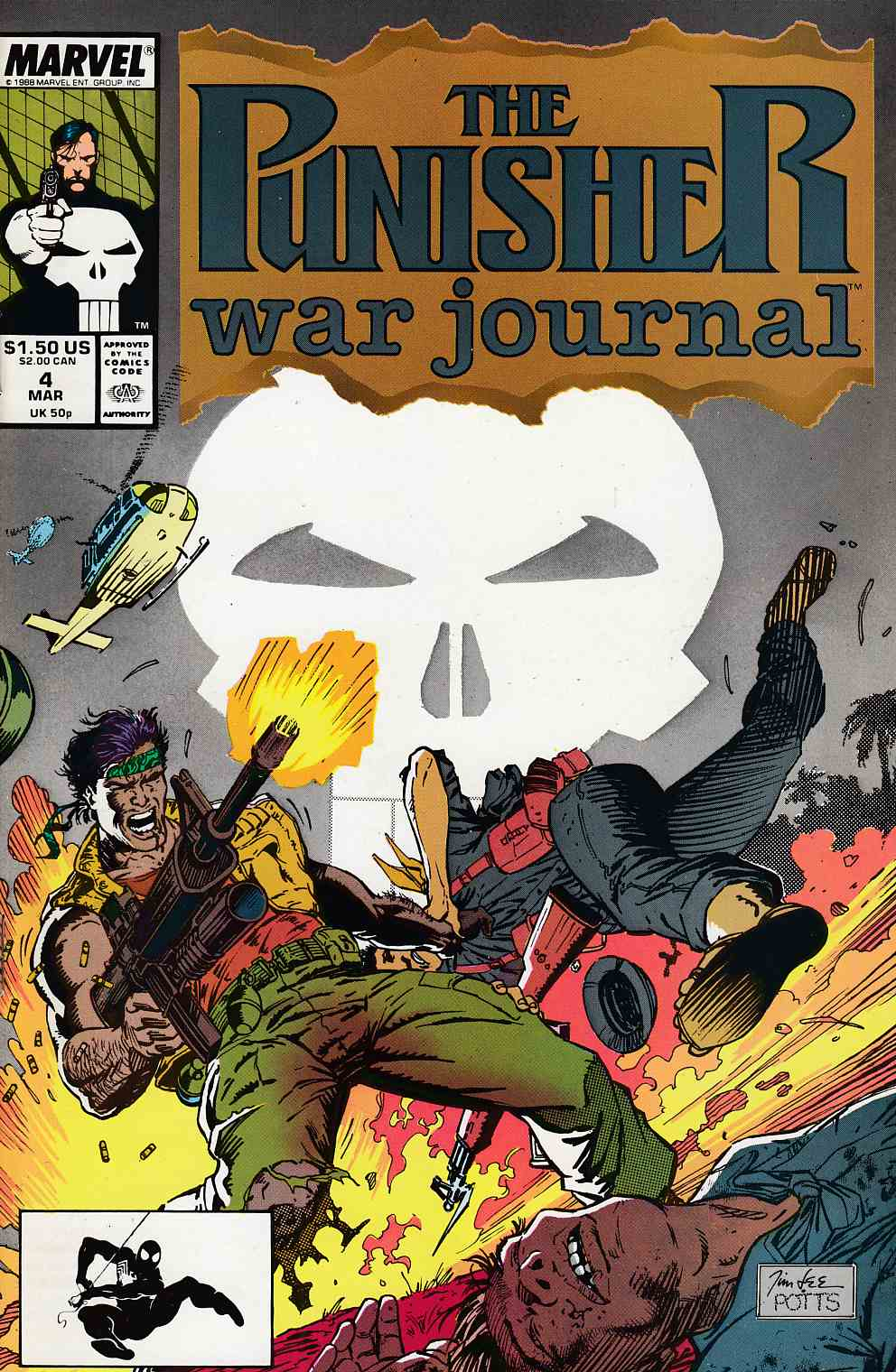 Punisher War Journal #4 Very Fine (8.0) [Marvel Comic] LARGE