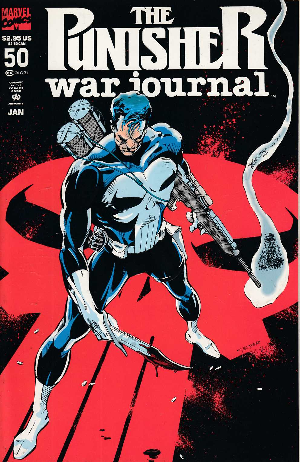 Punisher War Journal #50 Very Fine (8.0) [Marvel Comic] LARGE