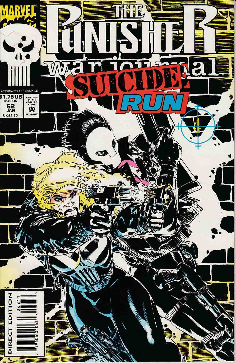 Punisher War Journal #62 Near Mint (9.4) [Marvel Comic] LARGE