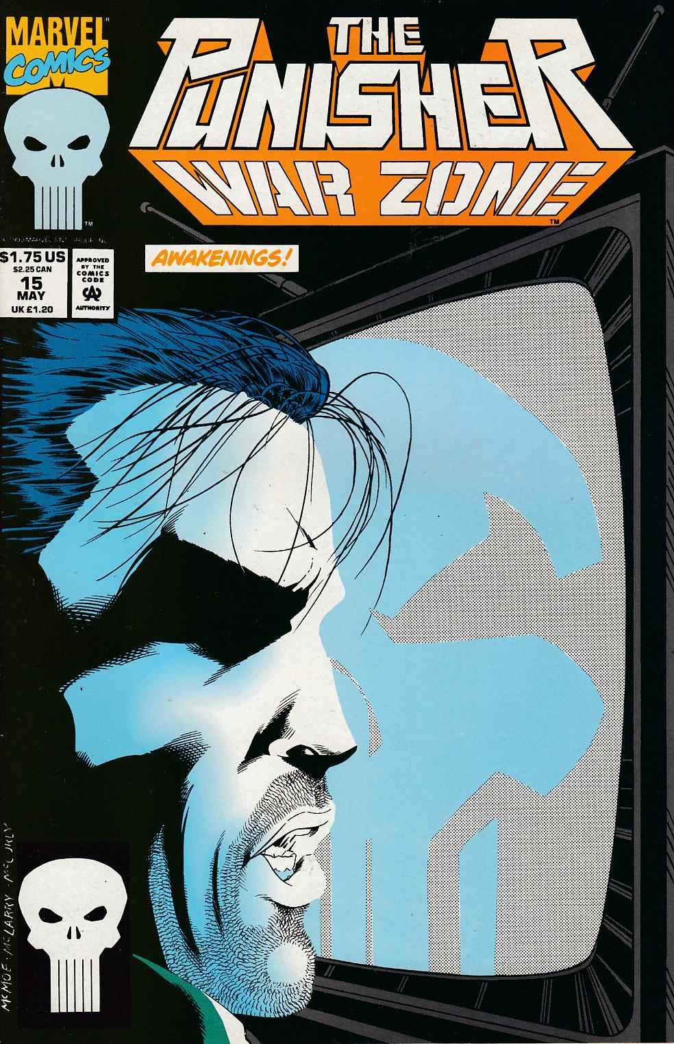 Punisher War Zone #15 Very Fine (8.0) [Marvel Comic] LARGE