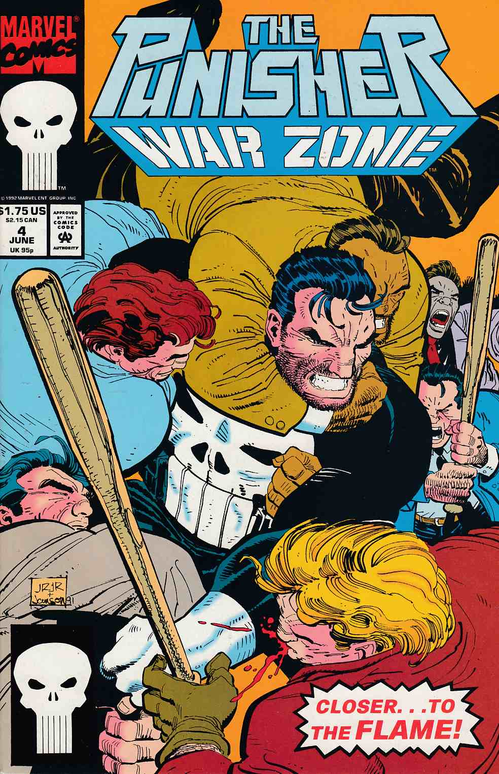 Punisher War Zone #4 Near Mint (9.4) [Marvel Comic] LARGE