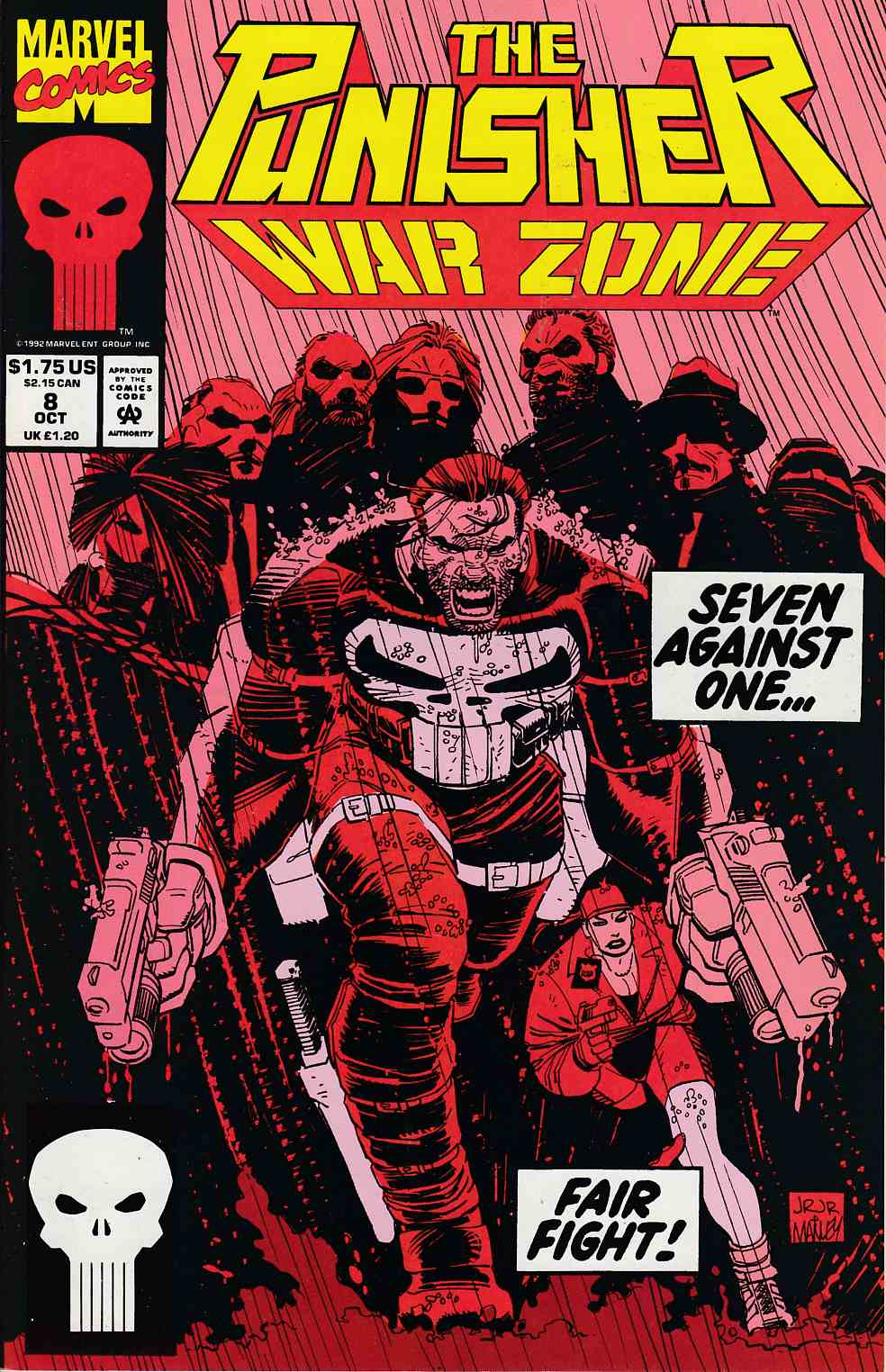 Punisher War Zone #8 Near Mint (9.4) [Marvel Comic] LARGE