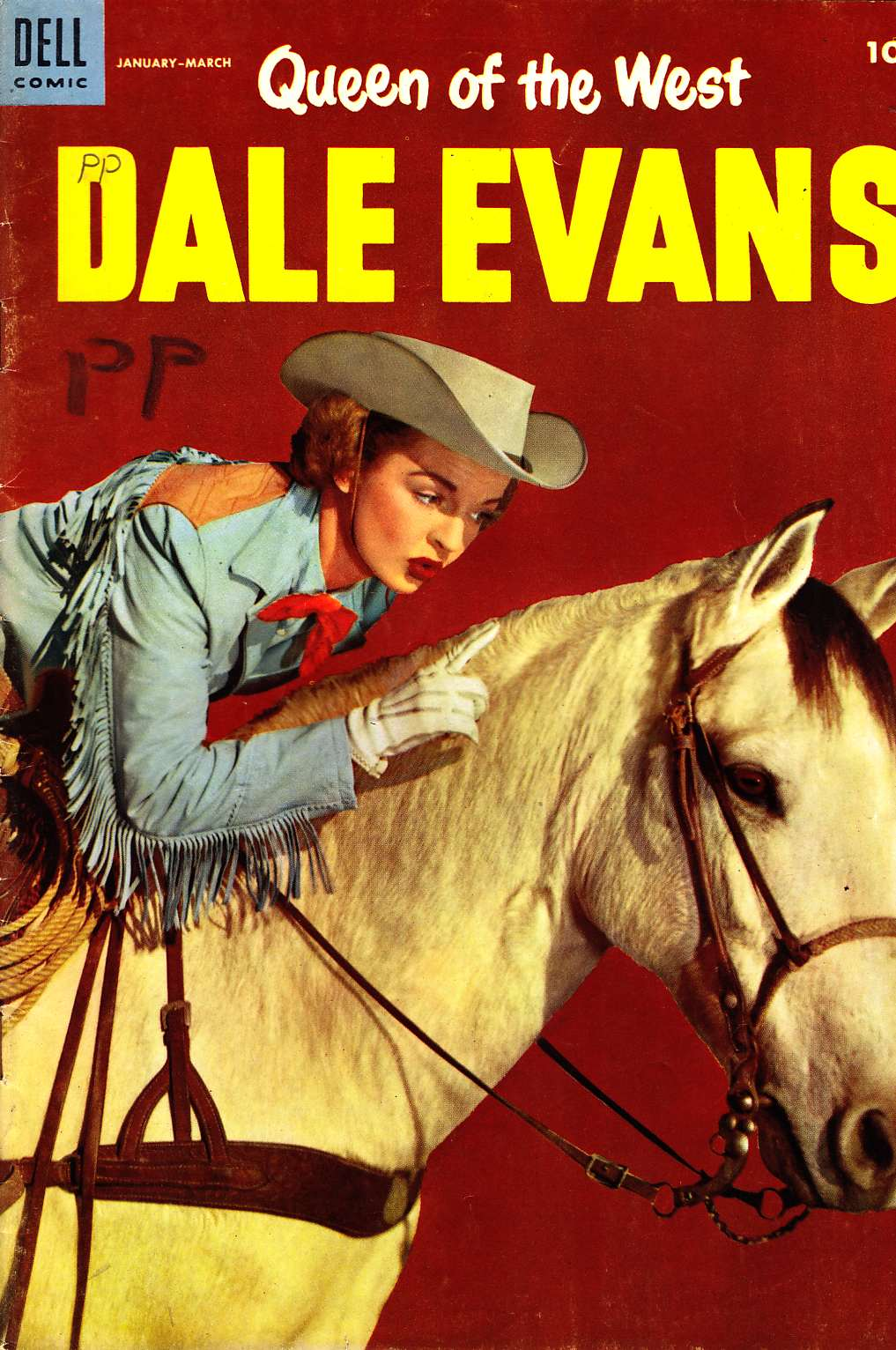 Queen Of The West Dale Evans #6 [Dell Comic] LARGE