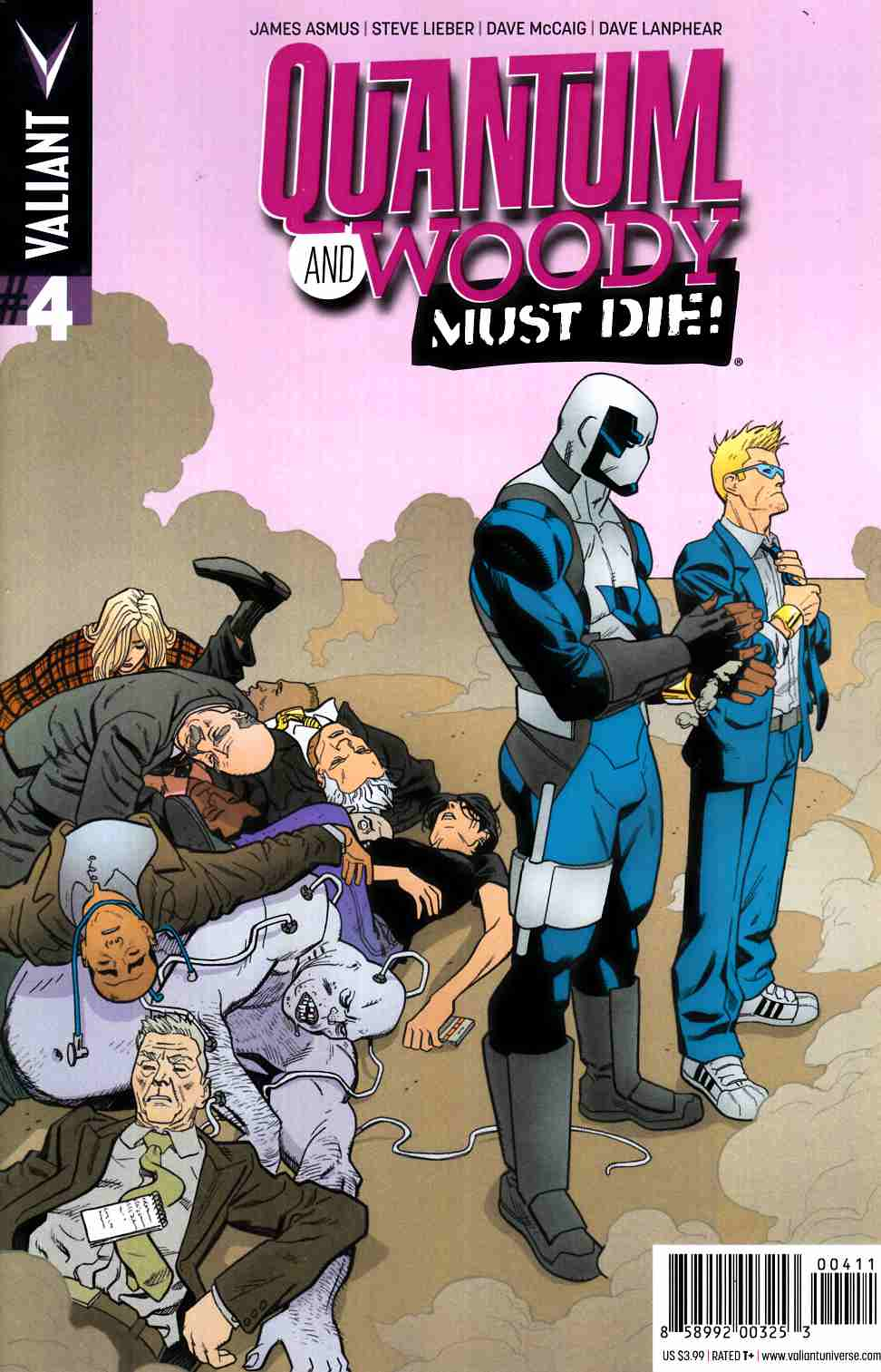 Quantum & Woody Must Die #4 Cover A- Hawthorne [Valiant Comic]_THUMBNAIL