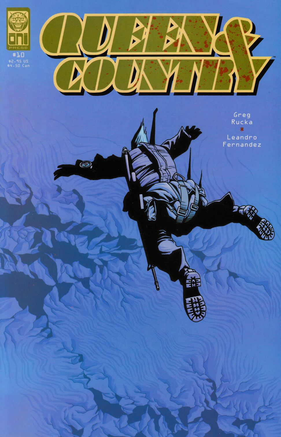 Queen & Country #10 [Oni Press Comic] THUMBNAIL