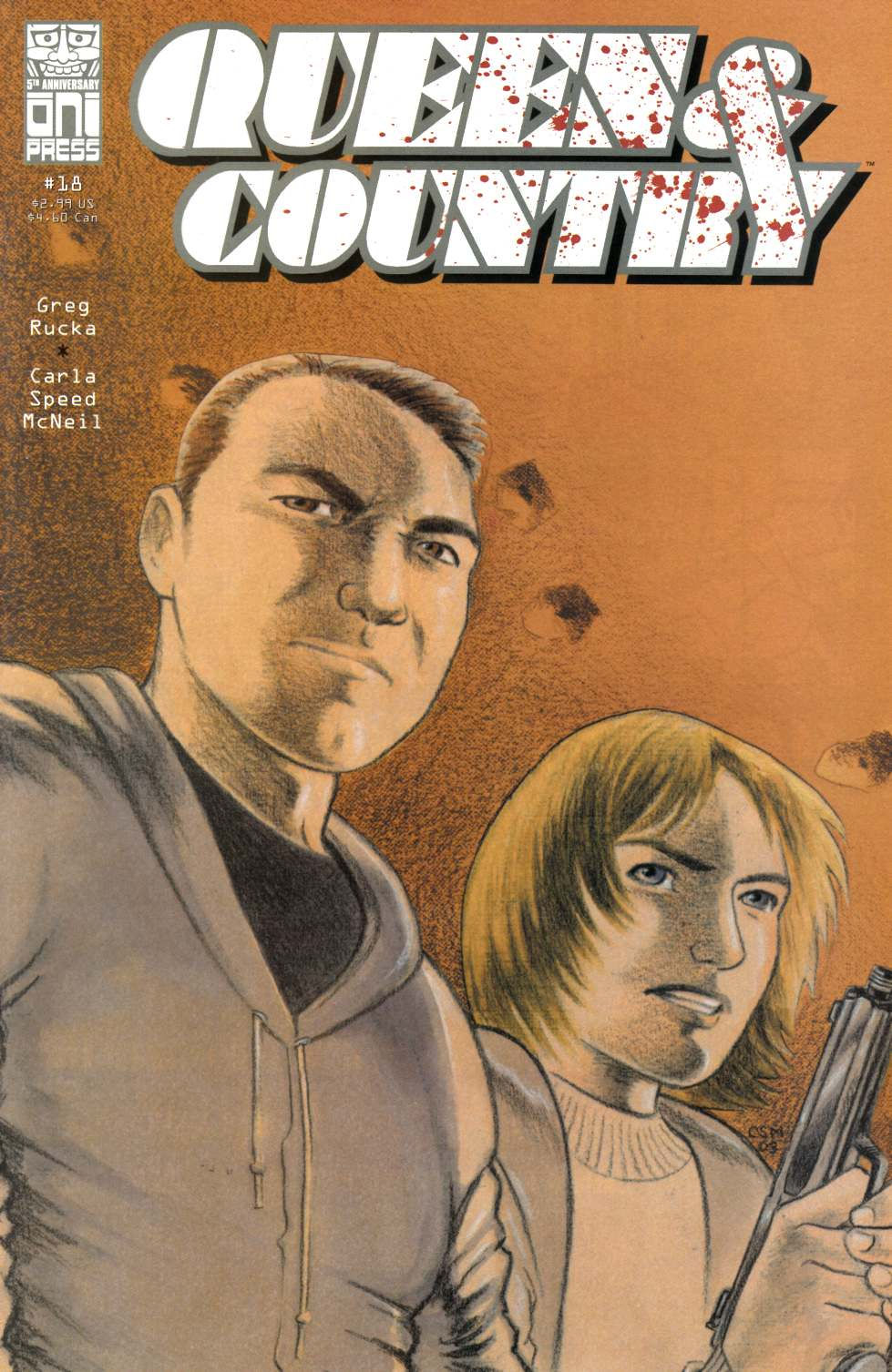 Queen & Country #18 [Oni Press Comic] THUMBNAIL
