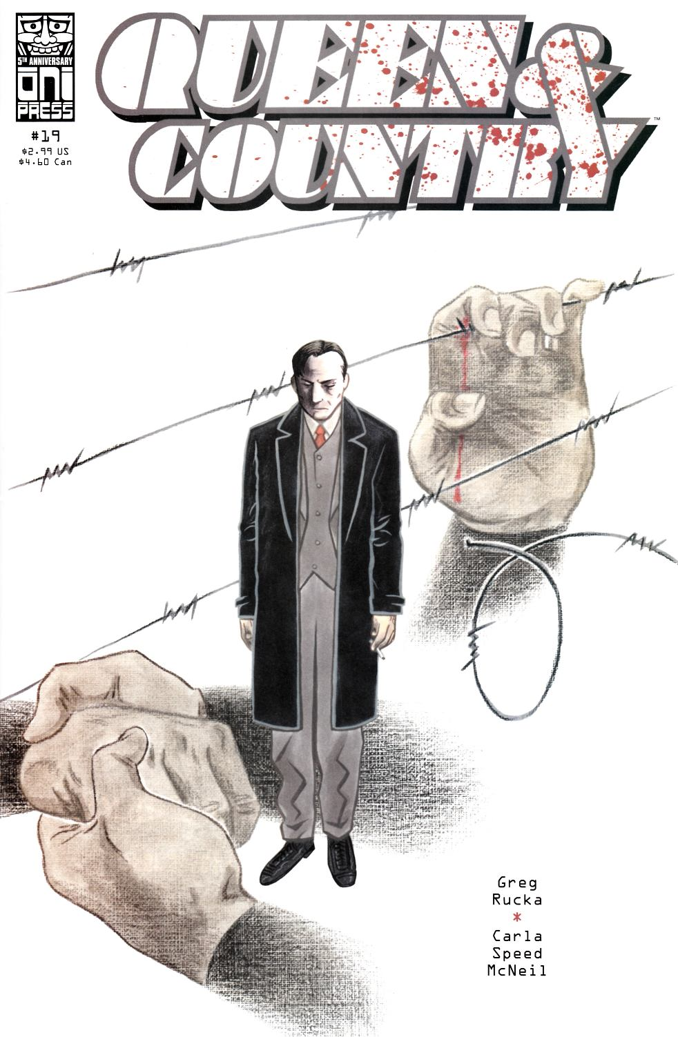 Queen & Country #19 [Oni Press Comic] THUMBNAIL
