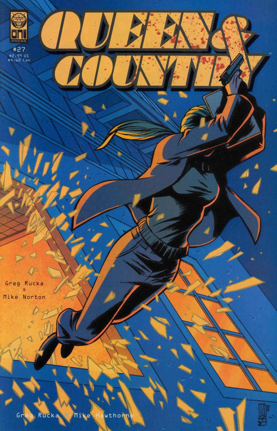 Queen & Country #27 [Oni Press Comic] THUMBNAIL