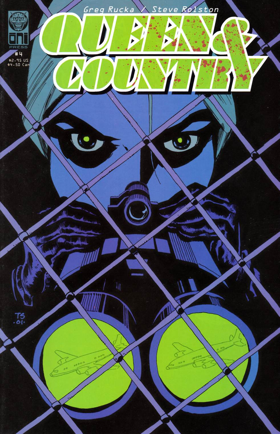 Queen & Country #4 [Oni Press Comic] THUMBNAIL
