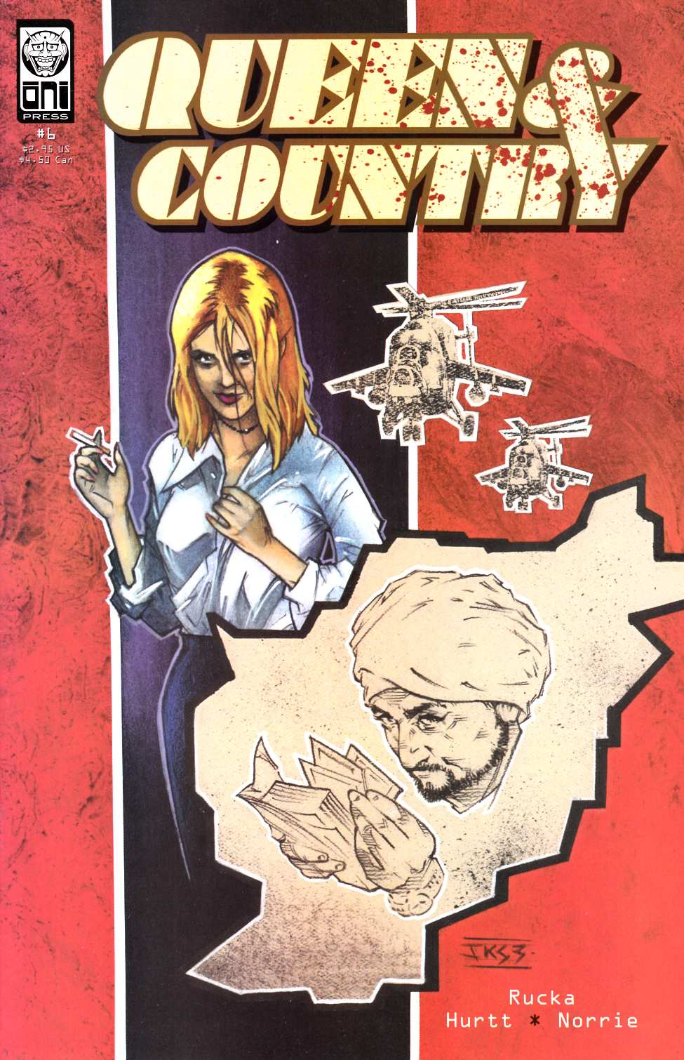Queen & Country #6 [Oni Press Comic] THUMBNAIL