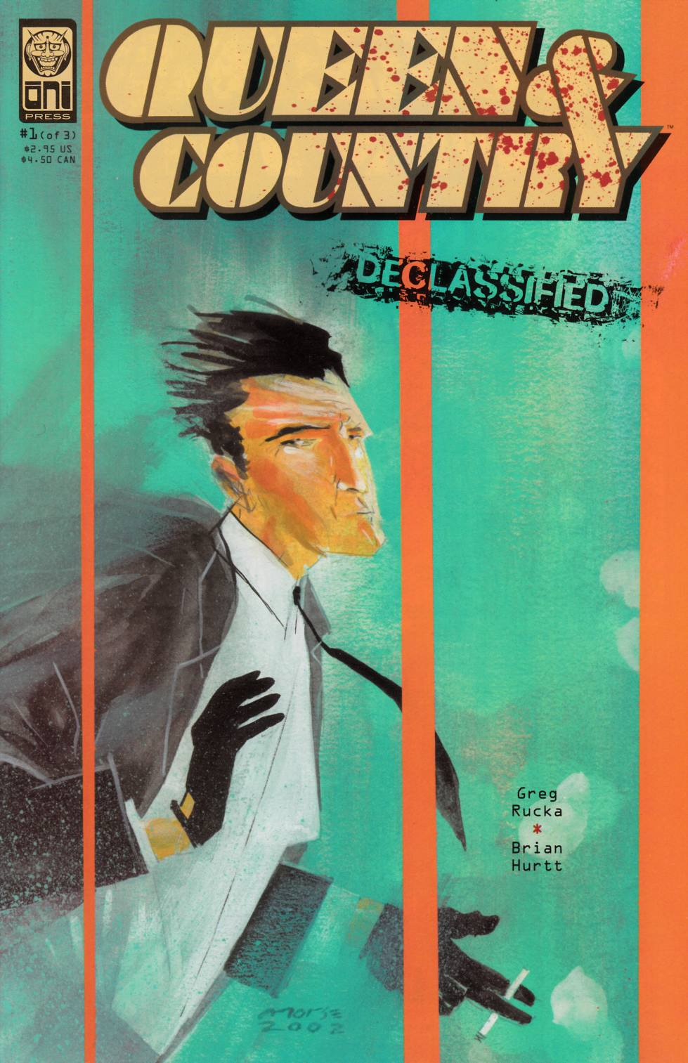 Queen & Country Declassified Volume 1 #1 [Oni Press Comic] THUMBNAIL