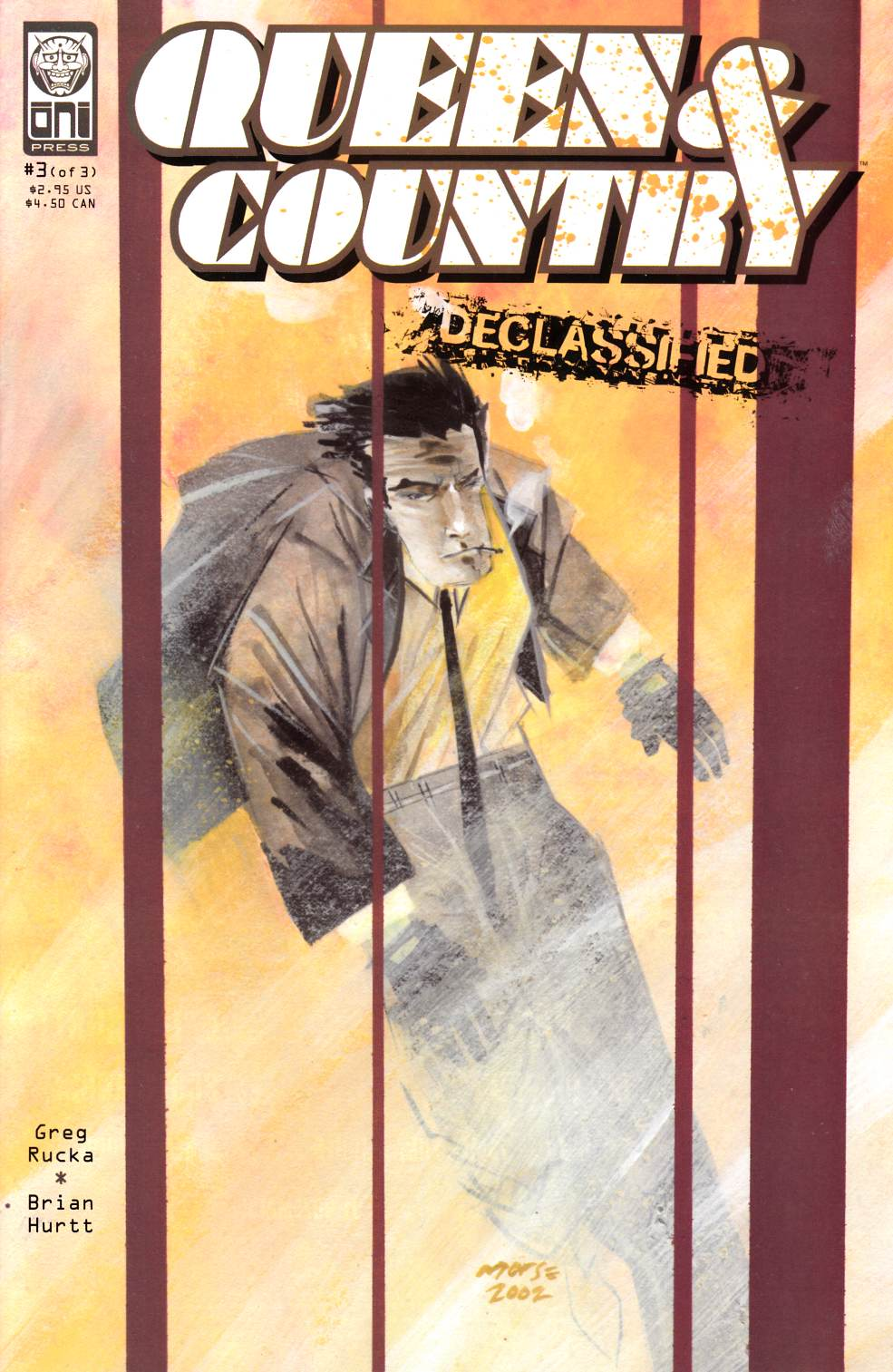 Queen & Country Declassified Volume 1 #3 [Oni Press Comic] THUMBNAIL