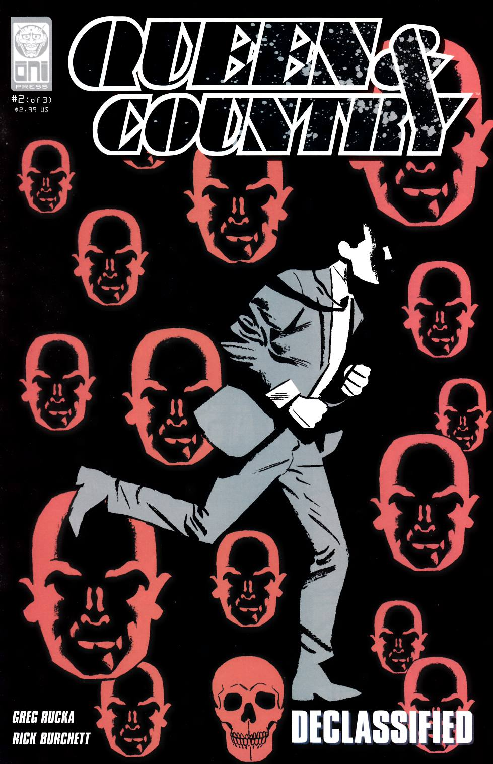 Queen & Country Declassified Volume 2 #2 [Oni Press Comic] THUMBNAIL